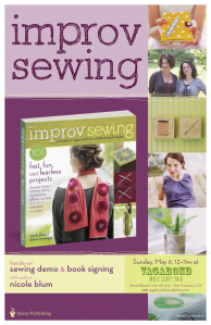 Improv Sewing Free Demo